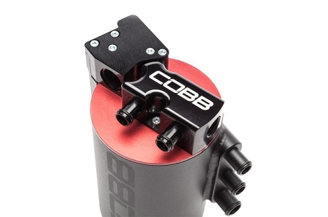 COBB Tuning Air Oil Separator Black/Red