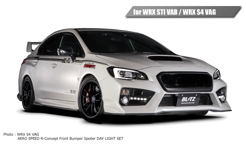 Blitz Aero Speed R Front Bumper with Daylight LEDs
