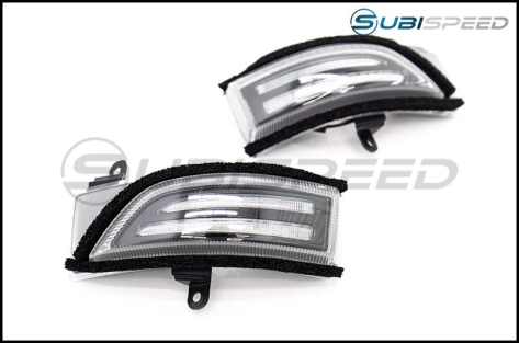 OLM Sequential Mirror Turn Signals with DRLs (Clear Lens)