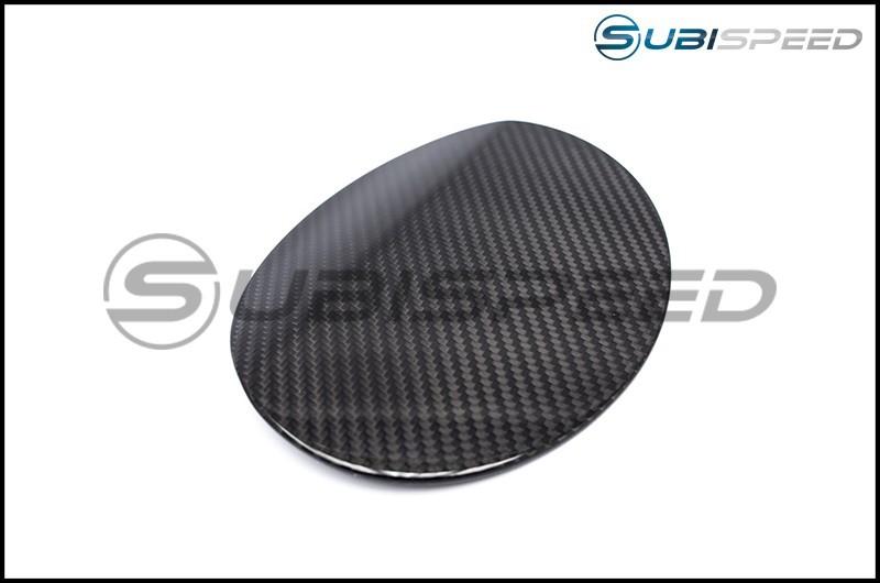 OLM S-line Dry Carbon Fiber Fuel Door Cover