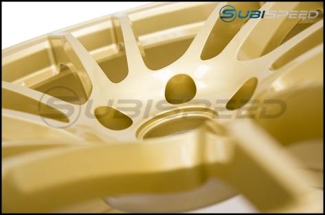 Rays Gram Lights 57XTC Gold 18X9.5 +38 - 2015+ WRX / 2015+ STI