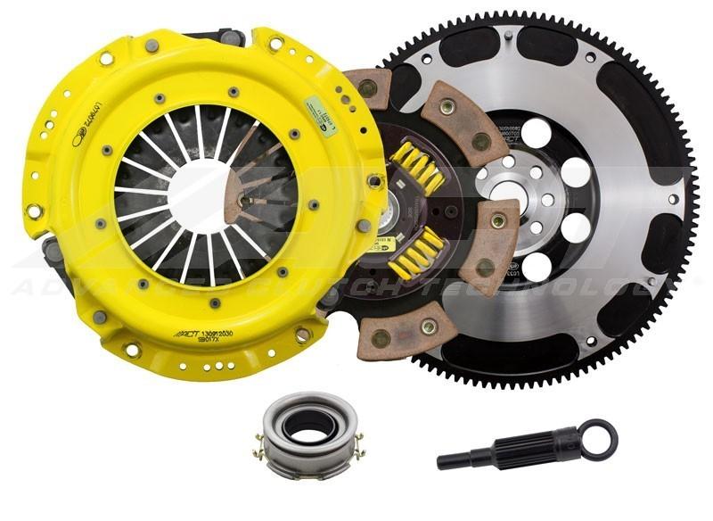 ACT XT / Race Sprung 6 Pad Clutch Kit w/ Flywheel