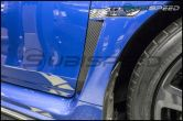 3D Carbon Fiber Vinyl Fender Vent Inserts - 2015+ WRX / 2015+ STI