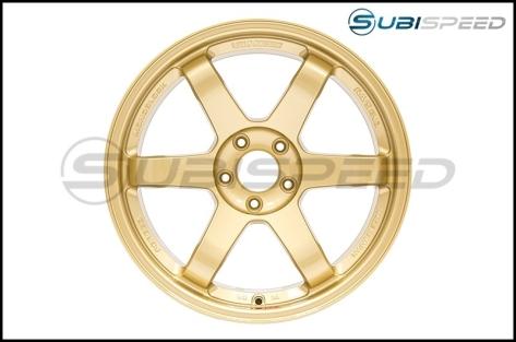 Volk TE37SL Gold 18x10 +40 - 2015+ WRX / 2015+ STI
