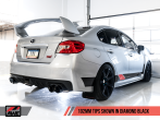 AWE Touring Edition Exhaust (Black or Chrome Tips, 102mm) - 2015+ STI