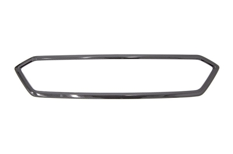 OLM LE Dry Carbon Fiber Grille Garnish Overlays - 2018-2021 Subaru WRX & STI