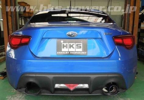 HKS Hi-Power Single Exit Exhaust - 2013+ FR-S / BRZ