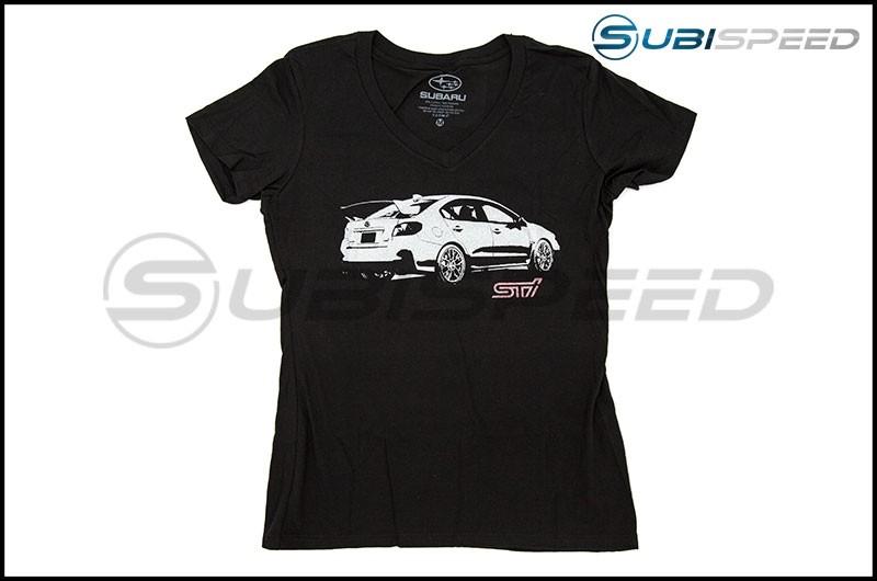 Subaru Women's STI V-Neck T-Shirt