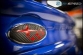 Sticker Fab Front and Rear Emblem Overlays - 2015-2020 WRX & STI