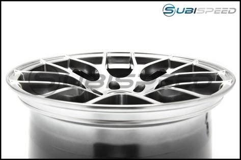 Enkei Raijin Hyper Silver Wheels 18x8.5 +38mm - 2015+ WRX / 2015+ STI