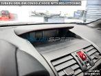 OEM JDM Console Hood with Red Stitching - 2015-2020 Subaru WRX & STI