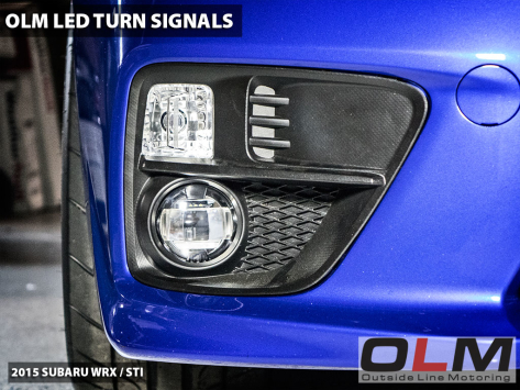 OLM LED Front Turn Signal Bulbs - 2015-2020 Subaru WRX & STI / 2013-2016 Scion FR-S / BRZ  / 2014-2021 Forester / 2013-2021 Crosstrek