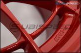 Enkei NT03+M 18x9.5 +40mm Competition Red - 2015+ WRX / 2015+ STI