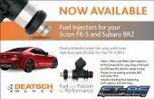 Deatschwerks 900cc Fuel Injectors - 2013+ FR-S / BRZ / 86