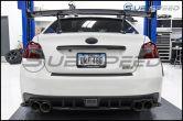 3D Carbon / Black Rear Bumper Overlay - 2015+ WRX / 2015+ STI