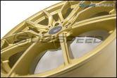 Option Lab R716 Wheels 18x9.5 +35 Top Secret Gold Wheels - 2015+ WRX / 2015+ STI