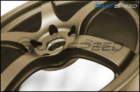 Rays Gram Lights 57CR Bronze 18x9.5 +38 - 2015+ WRX / 2015+ STI