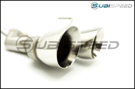 Nameless Muffler Delete Axle Back System w/ Quad 3