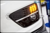 SubiSpeed USDM LED Front Turn Signal Housings - 2015+ WRX / 2015+ STI