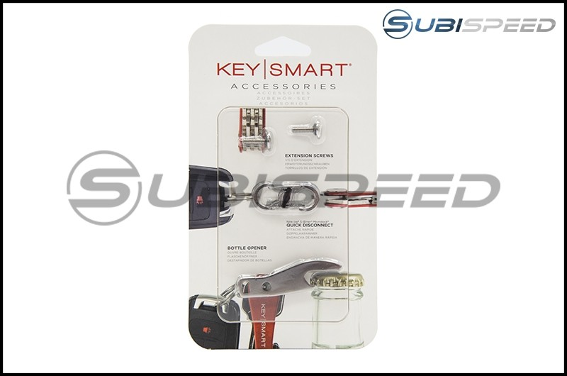 KeySmart Accessory Pack (Key / Bottle Opener / Quick Disconnect)