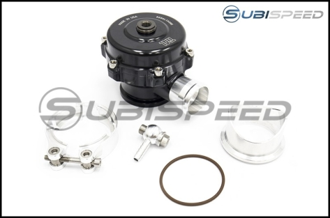 Tial QR Recirculating Blow Off Valve 10psi Spring Black 1.34in Outlet