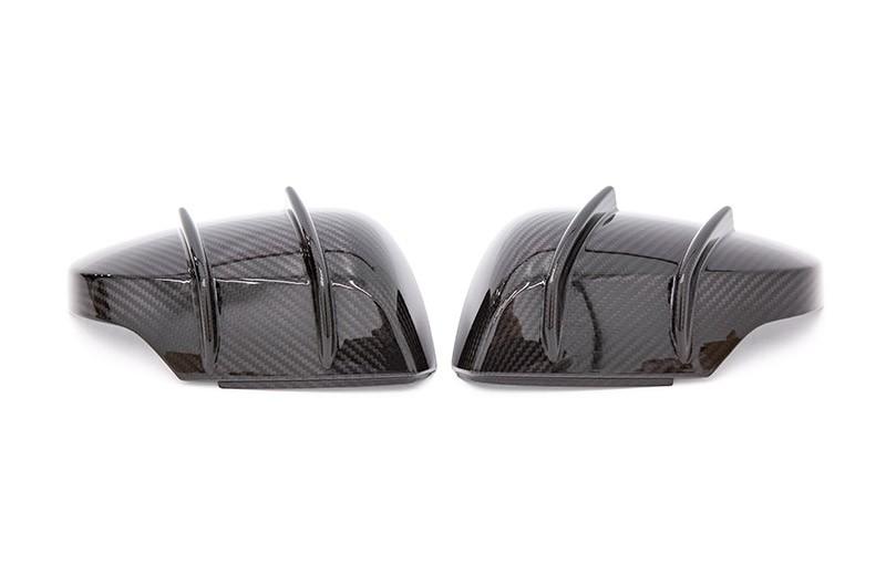 STI Type RA-R Dry Carbon Fiber Mirror Covers