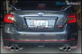 Sticker Fab S207 Style Rear Bumper Pinstripe - 2015-2020 Subaru WRX & STI