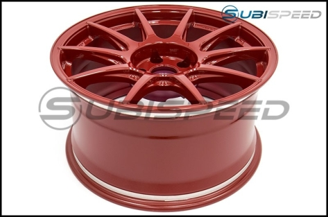 Work M.C.O Racing Type CS 18x9.5 +42mm Red - 2015+ WRX / 2015+ STI