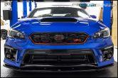 JDMS Front and Rear Carbon Fiber Frameless Emblem Set - 2015-2021 Subaru WRX & STI