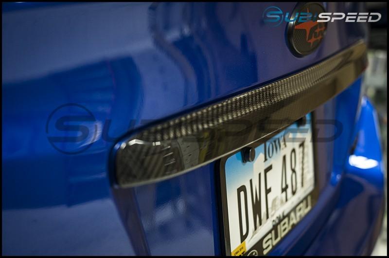 OLM S-Line Dry Carbon Fiber Trunk Finish