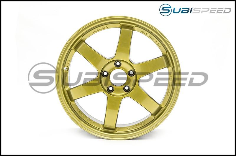 Volk TE37 SL Hyper Gold 18x9.5 +40 - 2015+ WRX / 2015+ STI