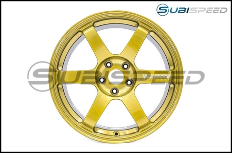 Volk TE37 SAGA Hyper Gold 18x10 +41 - 2015+ WRX / 2015+ STI