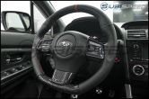 OLM S-line Carbon Fiber Steering Wheel Covers - 2015+ WRX / 2015+ STI