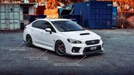 Flow Designs Side Skirts / Splitters - 2015+ WRX / 2015+ STI