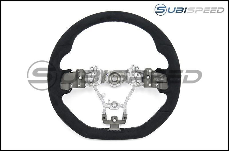 STI JDM S207 / WRX S4 tS Challenge Package Style Ultrasuede Steering Wheel