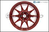 Work M.C.O Racing Type CS 18x9.5 +42mm Red - 2015+ WRX / 2015+ STI