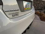 Sticker Fab Clear Rock Guard Rear Bumper Protector - 2015-2020 Subaru WRX & STI