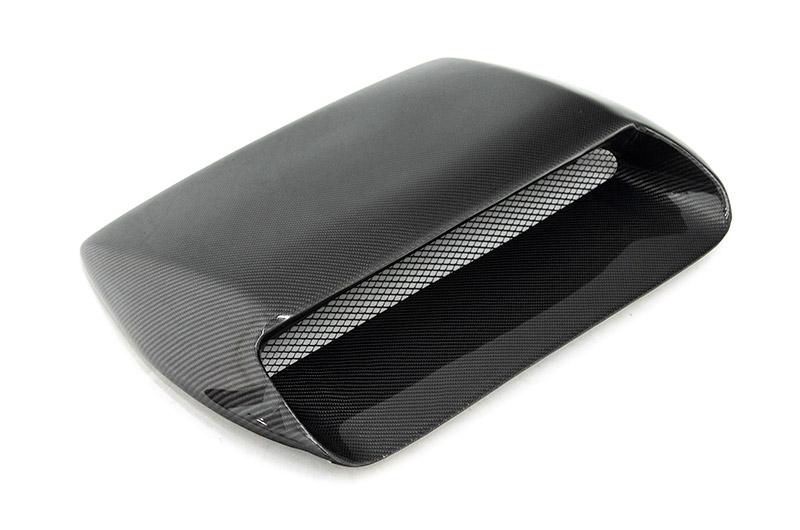 OLM Oversized Carbon Fiber Hood Scoop