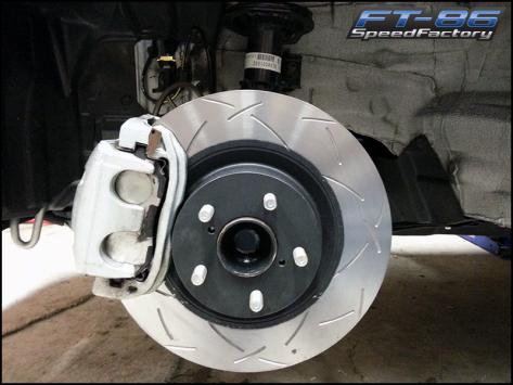 SpeedFactory Stage 2 Brake Package - 2013+ FR-S / BRZ / 86
