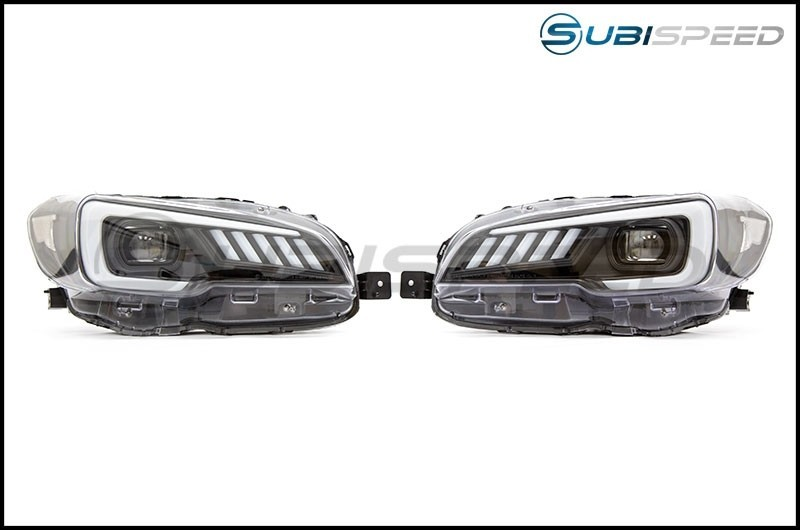 SubiSpeed Euro LED Headlights DRL and Sequential Turn Signals