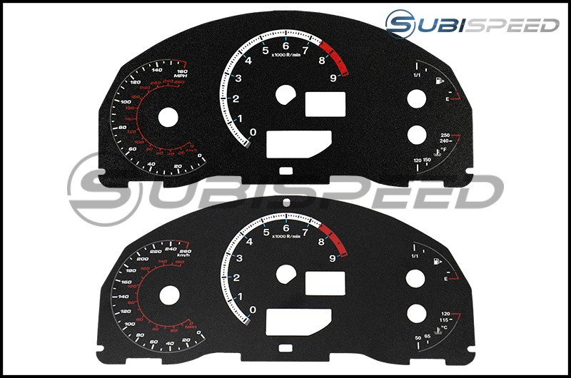 Magna Instruments F-sport Style Cluster Face