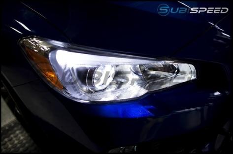 OLM LED Headlight Boomerang Bulbs - 2015-2020 Subaru WRX Base & Premium