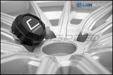 Cosmis Racing R1 18x9.5 +35mm Silver - 2015+ WRX / STI