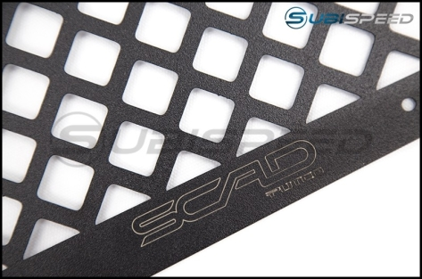 SCAD Boss Design Black Stainless Grille