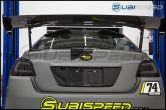 OLM ATAK Carbon Fiber Roof Spoiler - 2015-2020 Subaru WRX & STI