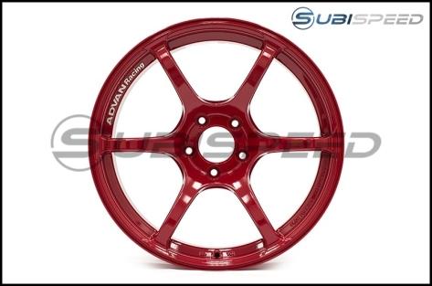 Advan RGIII 18X9.5 +45 Racing Hyper Red - 2015+ WRX / 2015+ STI