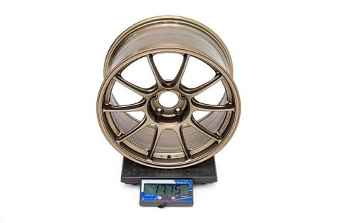 WedsSport TC105X 18x9.5 +35 TS-Bronze - 2015+ WRX / 2015+ STI