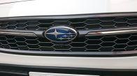 Subaru JDM WRX S4 STI SPORT Grille Dark Metallic with Chrome Winglets - 2018+ WRX / 2018+ STI