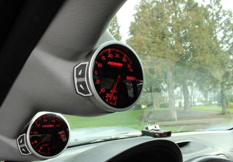 Perrin Performance 60mm Fuel Pressure Gauge - Universal