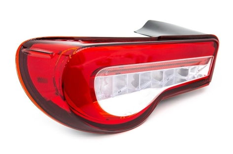 Valenti Jewel LED Tail Lights (Red Lens, Chrome Reflector) - 2013+ FR-S / BRZ / 86